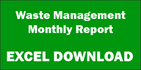 Excel Waste Management Monthly Report
