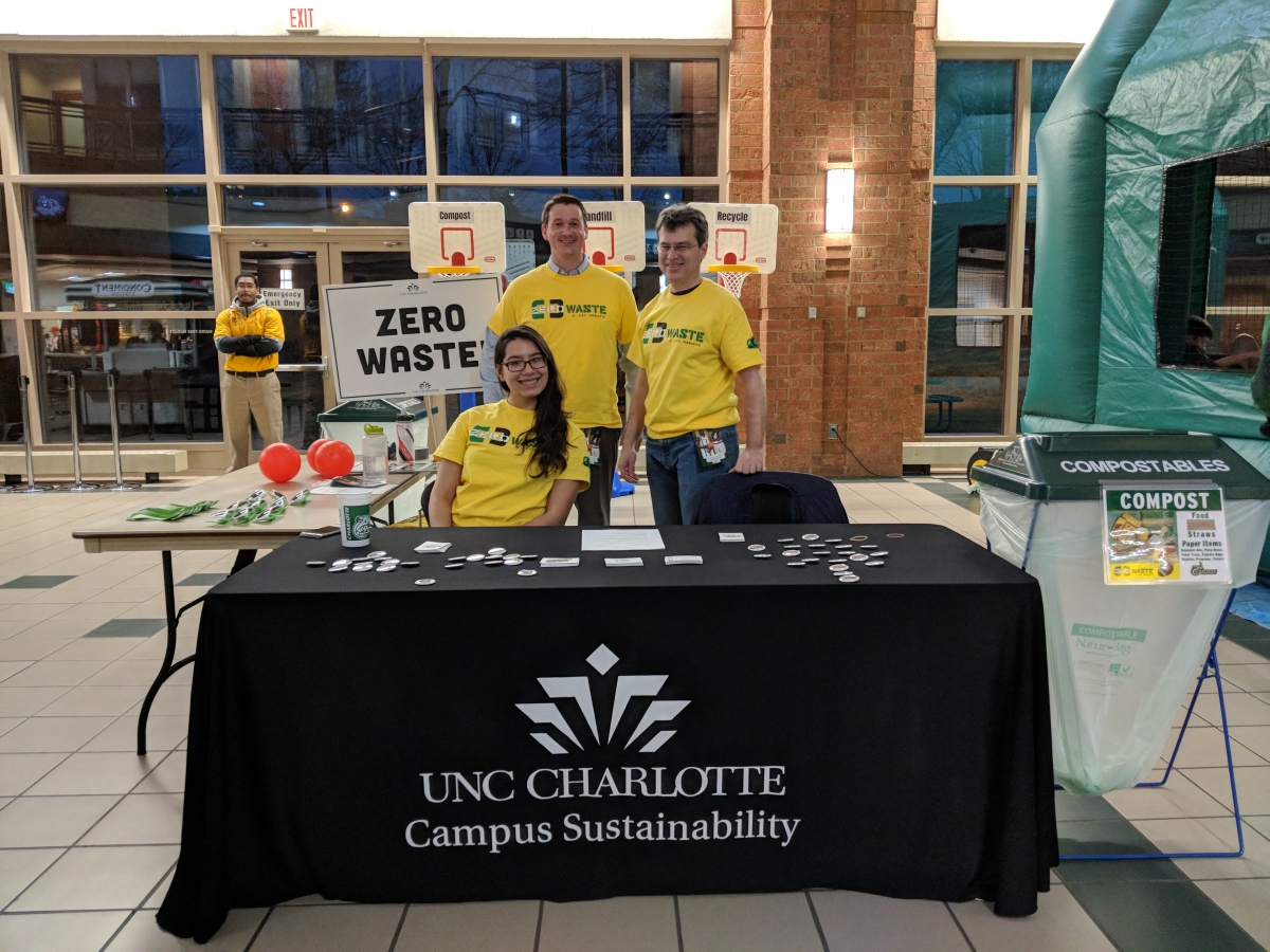 Zero Waste Basketball Information Table