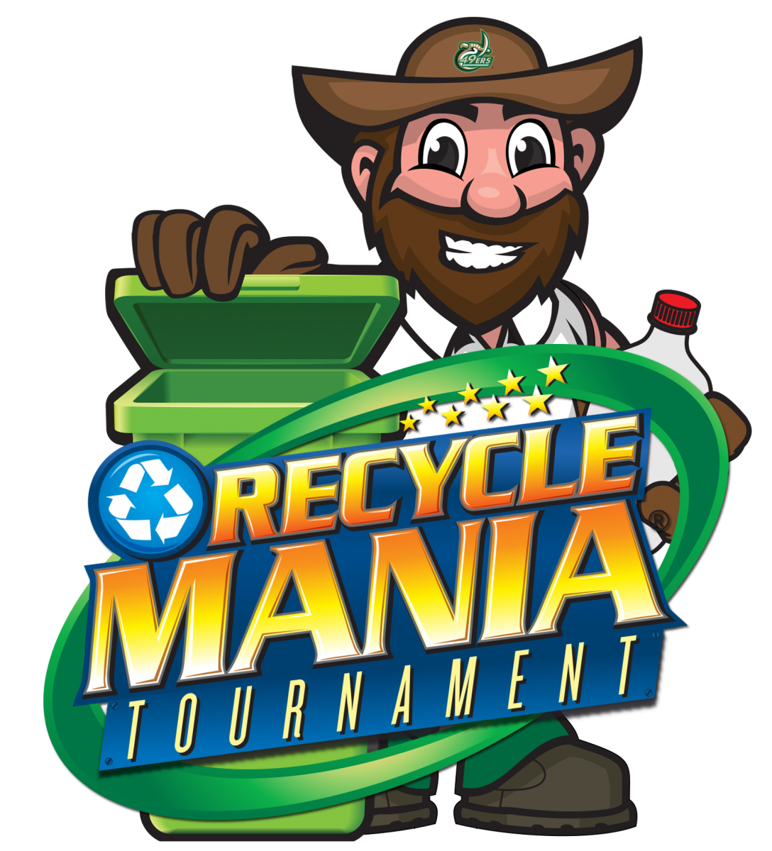 RecycleMania and Norm Logo