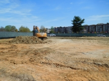 Admissions and Visitors Center Construction