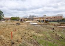 Belk Plaza Construction