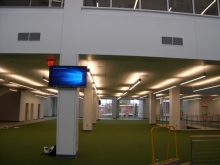 Interior space of University Recreation Center
