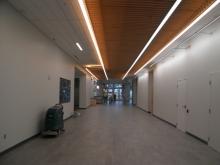 Interior hallway of University Recreation Center