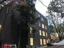 Exterior view of Sycamore Hall
