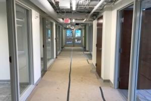 Interior hallway in Sycamore