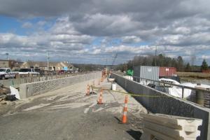 Blue Line construction site