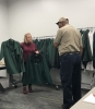 FM employees view new uniform jacket options